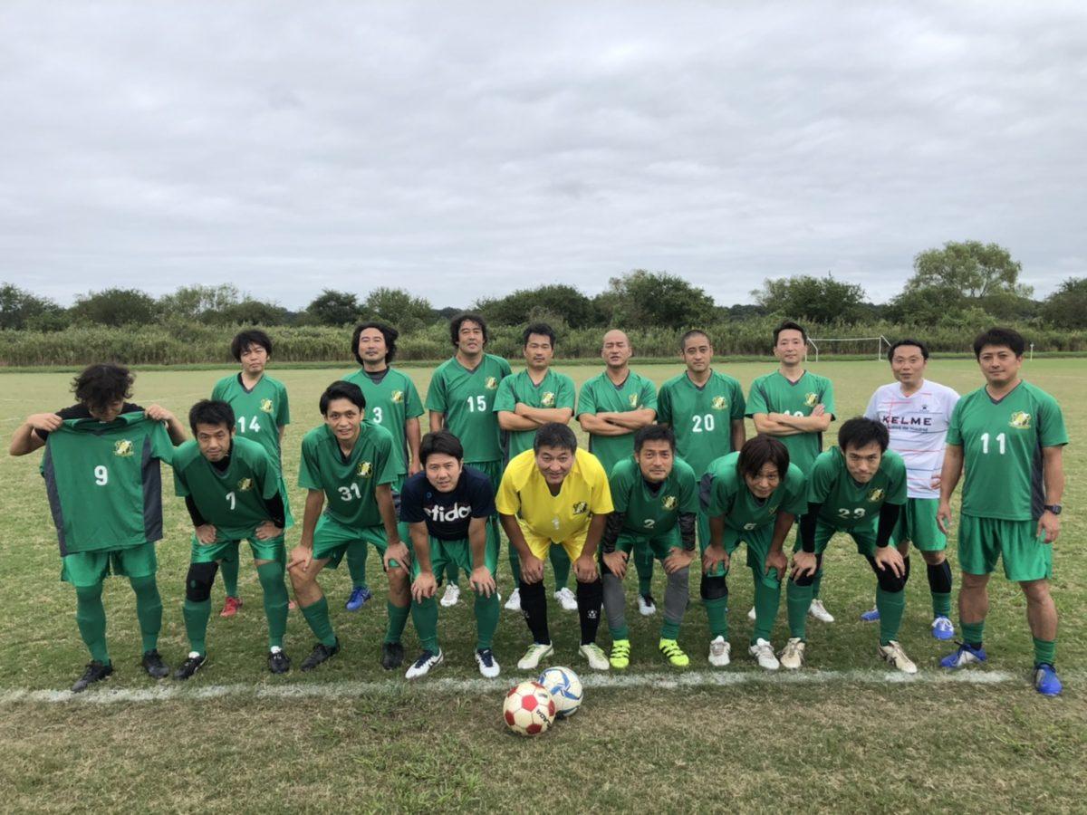 【サッカー】O-40  9月の公式戦 2試合結果報告